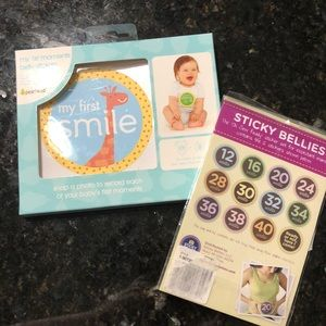 Other - Pregnancy Belly stickers and My 1sts stickers